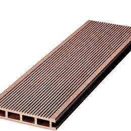Пиломатериалы - Террасная доска VELVET STANDART коричневый цвет, 0