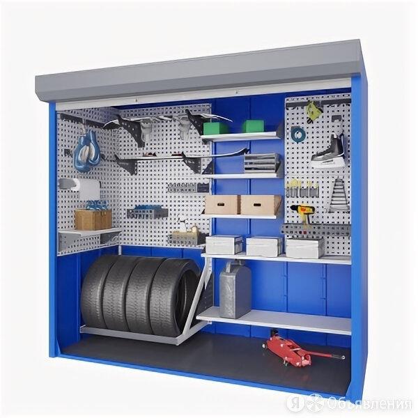 Верстакофф Шкаф для паркинга 2000х2150х900 по цене 84524₽ - Мебель для учреждений, фото 0