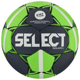 Мячи - SELECT Мяч гандбольный SELECT Solera, Senior, размер 3, EHF Appr, ПУ, ручная ..., 0