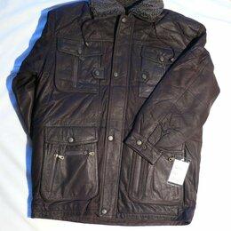 Куртки - Куртка кожаная теплая, 0