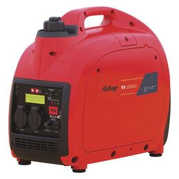 Электрогенераторы и станции - Бензиновый генератор FUBAG TI 2000, 0