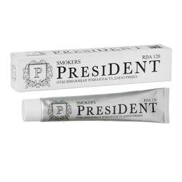 Зубная паста - Зубная паста President Smokers, 120 RDA, 75 мл, 0