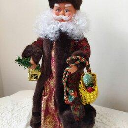 Новогодний декор и аксессуары - Дед Мороз музыкальный, 0