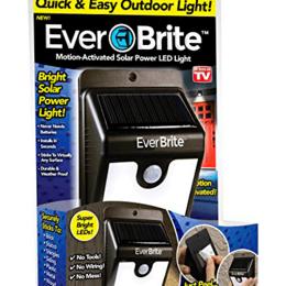 Уличное освещение - Лампа на солнечной батарее с датчиком движения, 0