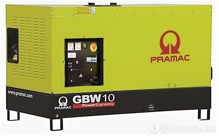 Дизельный генератор Pramac GBW 10 P в кожухе по цене 775941₽ - Электрогенераторы и станции, фото 0