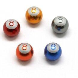 Вещи - Колпачок на камеру декоративный бильярдный шар ал., 0
