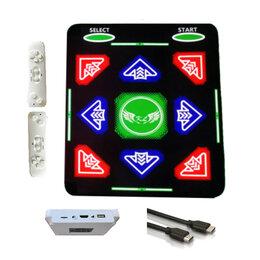 Игровые приставки - Танцевально-игровой коврик HDMI, б/проводной, 64 Бит, русское меню,/ТV, PC/, 0