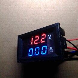 Электрические щиты и комплектующие - Вольтметр амперметр 0-100V 10A, 0