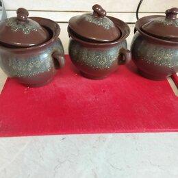 Аксессуары для готовки - Горшочек керамика , 3 шт , 0