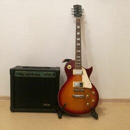 Электрогитары и бас-гитары - Электрогитара Apollo DLC-1200 с комбоусилителем Stagg 20GA, 0