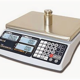 Весы - Весы электронные торговые без стойки MAS MR1-15, 0