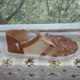 Сандалии - Плетёные сандалии 40 размер, 0