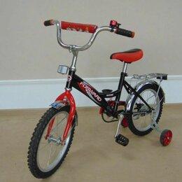 Велосипеды - Детский велосипед красного цвета, 0