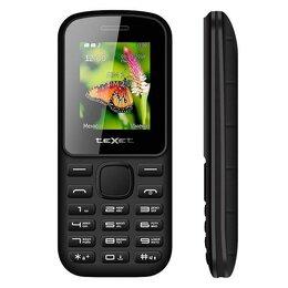 Проводные телефоны - Телефон teXet TM-130  (черный), 0