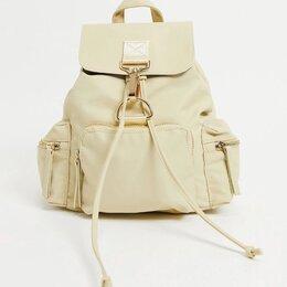 Рюкзаки - Бежевый рюкзак женский, 0