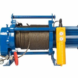 Грузоподъемное оборудование - Лебедка TOR ЛЭК-300 E21 (KCD) 300 кг, 220 В с канатом 30 м, 0