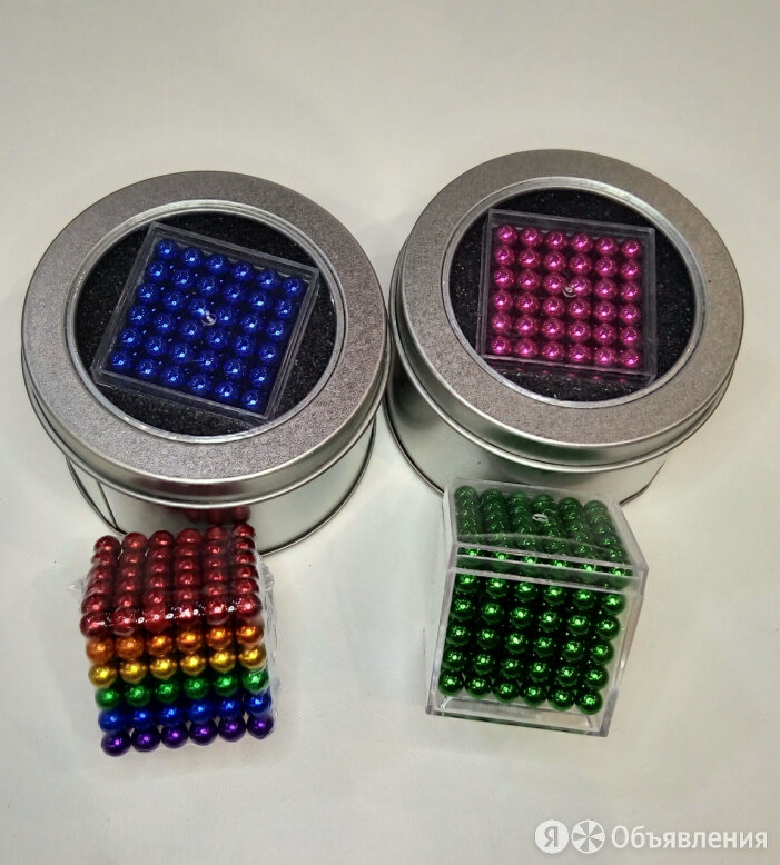 Неокуб шарики 3х3 см по цене 1350₽ - Мягкие игрушки, фото 0