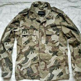 Рубашки - Рубашка-курточка в милитари стиле Gianni Lupo  , 0