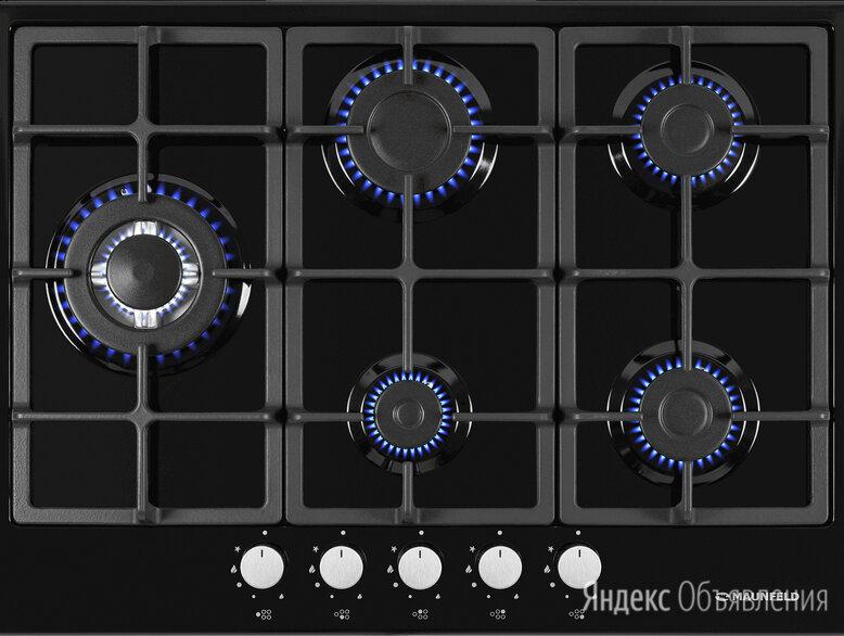 Газовая варочная панель maunfeld eghe.75.33CB\G по цене 11495₽ - Плиты и варочные панели, фото 0