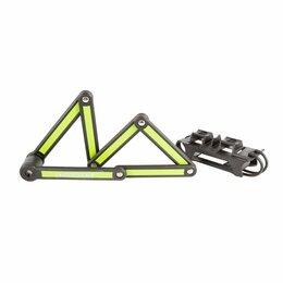 Замки - Велосипедный замок AUTHOR AUL FlexGuard-6 сегментный, на ключ, 840 х 3,5мм, че, 0
