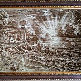 Картины, постеры, гобелены, панно - Картины выжигание на дереве(фанера), 0