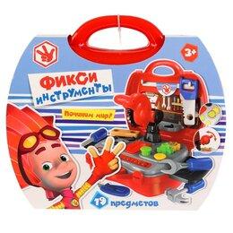 """Детские наборы инструментов - Набор инструментов """"Играем вместе"""" Фиксики, в чемодане арт.1510K1622-R, 0"""