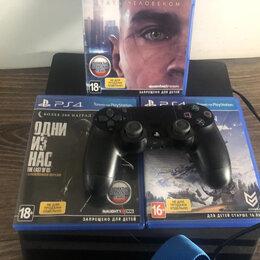 Игровые приставки - PlayStation 4 plus меганабор , 0