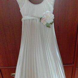 Платья и сарафаны - Плиссированное детское платье маленькая леди, 0