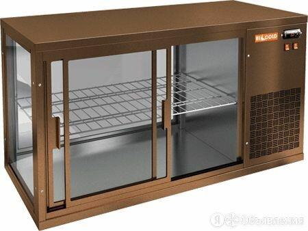 Витрина Hicold VRL 1100 R BRONZE по цене 49890₽ - Холодильные витрины, фото 0