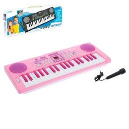 """Подарочные наборы - Синтезатор """"Нежность"""", 37 клавиш, с микрофоном , 0"""