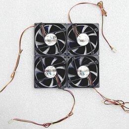 Кулеры и системы охлаждения - Цена за 4шт. Вентиляторы 80мм U=12В, I=0,08А, 3pin, 0