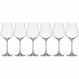 """Бокалы и стаканы - Набор бокалов для вина из 6 шт. """"Alca"""" 500 мл, Н=25 см. арт. , 0"""