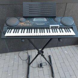 Клавишные инструменты - Синтезатор Casio CTK-73 (стойка, чехол и педаль в подарок), 0
