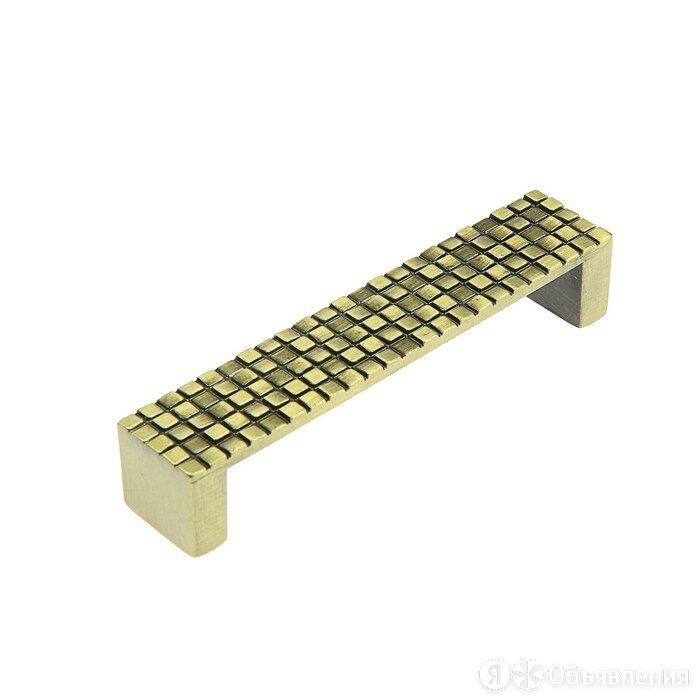 Ручка-скоба RS-019, 104*21*21 мм, размер 96 мм по цене 152₽ - Комплектующие, фото 0