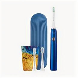 Зубные щетки - Soocas Зубная щетка Soocas Sonic X3U Van Gogh Blue, 0