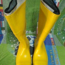 Обувь - Сапоги ПВХ с жестким подноском и чулком Артель р. 44, 0