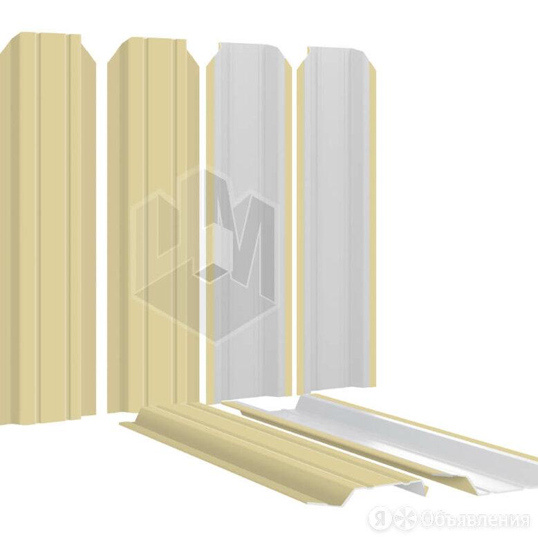 Штакетник для забора Узкий 85мм RAL1014 Бежевый высота 1.5 метра по цене 138₽ - Заборы, ворота и элементы, фото 0