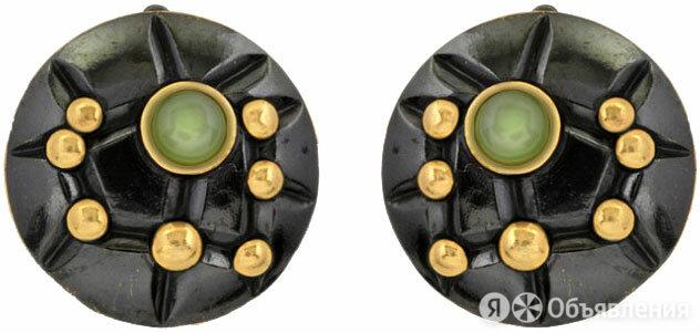 Серьги Балтийское золото 72801336-bz по цене 3390₽ - Серьги, фото 0