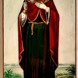 Иконы - Продам рукописную именную икону св.Ларисы., 0