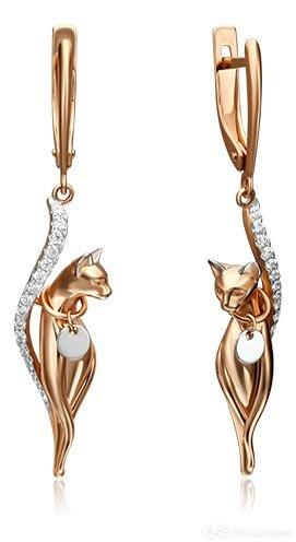 Серьги PLATINA Jewelry 02-4396-00-401-1111-48 по цене 42160₽ - Серьги, фото 0