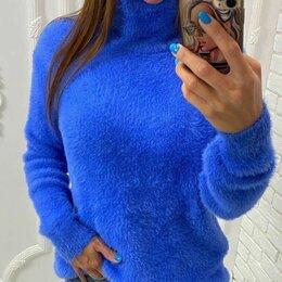 Свитеры и кардиганы - Женский пушистый свитер р-ры 46-60, 0