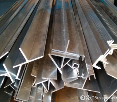 Тавр алюминиевый 20х50х1,5 мм АД1 по цене 119992₽ - Металлопрокат, фото 0
