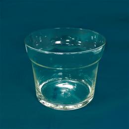 Вазы - Ваза Азалия 13 см прозрачная стекло, 0