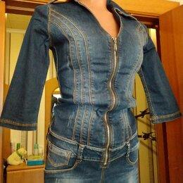 Комбинезоны - Комбинезон джинсовый и 🎁, 0