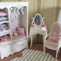 Игрушечная мебель и бытовая техника - Коллекция мебели для кукол барби, 0
