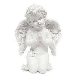 Куклы и пупсы - Сувенир Ангел молится полистоун 16см 4874, 0