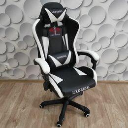 Компьютерные кресла - Игровое кресло с массажем, новое , 0