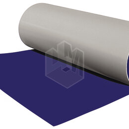 Кровля и водосток - Гладкий плоский лист рулонной стали RAL5002 Синий Ультрамарин ш1.25 т0.65мм, 0