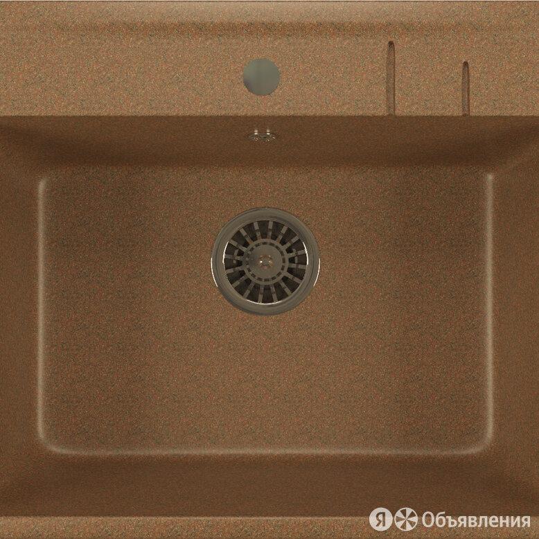 Мойка кухонная Mixline ML-GM15 терракот по цене 5140₽ - Кухонные мойки, фото 0