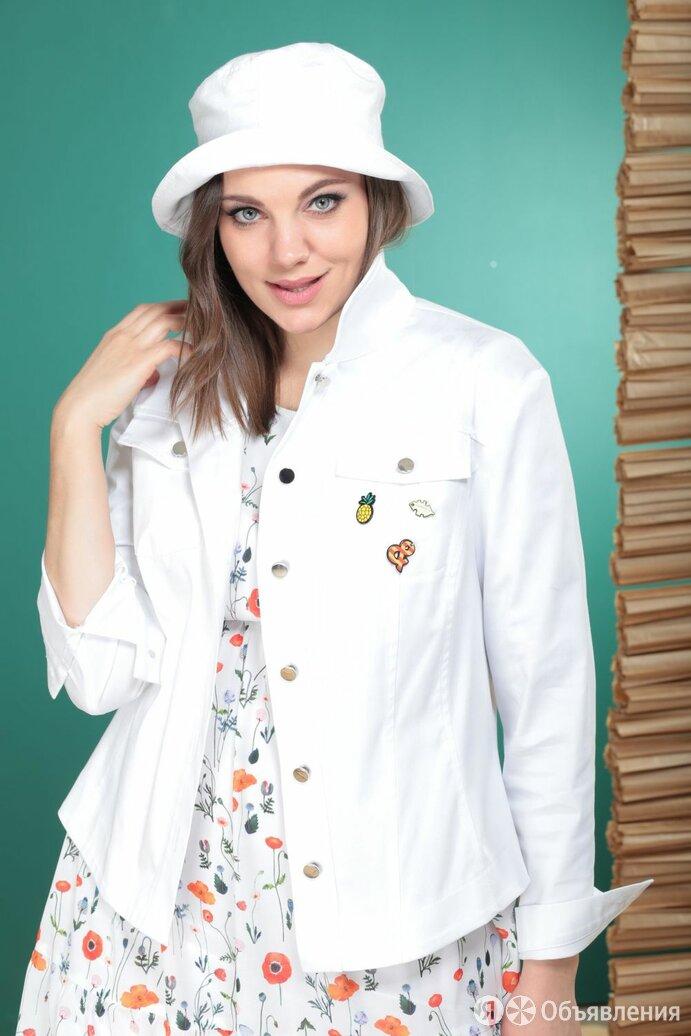 Куртка 1872/1 Надин-Н белая Модель: 1872/1 по цене 5070₽ - Куртки, фото 0